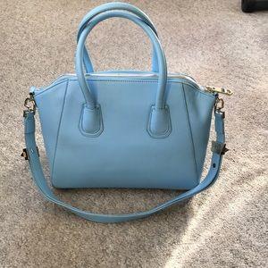 2e88c7990 Givenchy Bags | Powder Blue Medium Antigona Handbag | Poshmark
